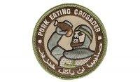 MIL-SPEC MONKEY - Morale Patch - Pork Eating Crusader - Multicam