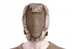 Maska Extreme Metal Mesh Face