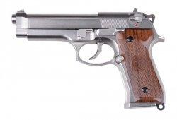 Replika pistoletu SR92 - Srebrny