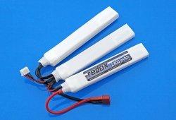 Akumulator Redox LiPo 2400 mAh 11,1V 20C (rozdzielony)