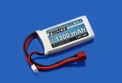 Redox - Akumulator LiPo 7,4V 1300mAh 20C