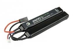 Akumulator LiPo 2600mAh 7.4V 20C - dwudzielny