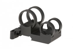 Montaż QD dwu -tubusowy LaRue Tactical Double Stack Light Mount (1.040 i 0.760) - Czarny