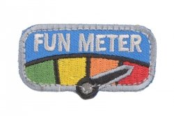 Naszywka Fun Meter - full color