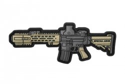 Naszywka Specna Arms Rifle - tan