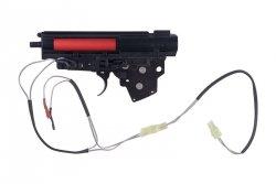 Specna Arms - Kompletny gearbox V3 z mikrostykiem (kable na tył)