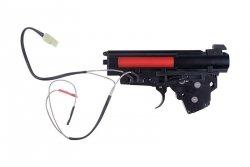 Specna Arms - Kompletny gearbox V3 z mikrostykiem (kable na górę)