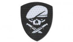Combat-ID - Naszywka Medal Of Honor Skull - Czarny - Gen I