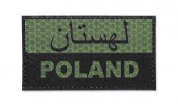 Combat-ID - Naszywka Polska - Perski - OD - Gen I