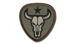 MIL-SPEC MONKEY - Morale Patch - Bull Skull - Forest