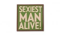 JTG - Naszywka 3D - Sexiest Man Alive! - Multicam