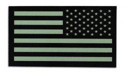Combat-ID - Naszywka USA Lewa - Duża - Zielony - Gen II