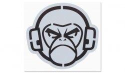MIL-SPEC MONKEY - Naklejka - MSM Logo Stencil