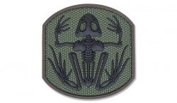 MIL-SPEC MONKEY - Morale Patch - Frog Skeleton - PVC - Forest