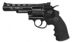 ASG - Wiatrówka Dan Wesson 4'' Revolver - Black - 4,5 mm - 17176