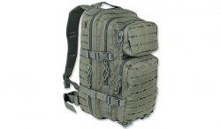 Mil-Tec - Plecak Small Assault Pack Laser Cut - Zielony OD - 14002601