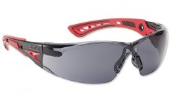 Bolle Safety - Okulary Ochronne - RUSH+ - Smoke - RUSHPPSF