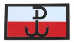 Combat-ID - Naszywka Polska Walcząca - Duża - Kolor - Gen II IR