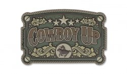 MIL-SPEC MONKEY - Morale Patch - Cowboy Up - PVC - Multicam