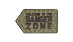 MIL-SPEC MONKEY - Morale Patch - Danger Zone - PVC - Multicam