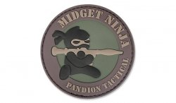 MIL-SPEC MONKEY - Morale Patch - Midget Ninja RPG - PVC - Forest