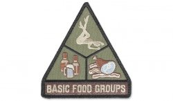MIL-SPEC MONKEY - Morale Patch - Basic Food Groups - Forest