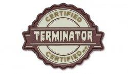 101 Inc. - Naszywka 3D - Terminator - Coyote