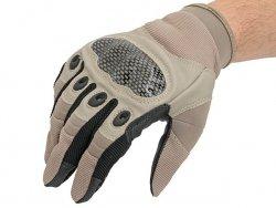 Military Combat Gloves mod. IV (Size L) - TAN [8FIELDS]