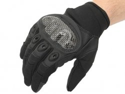 Military Combat Gloves mod. IV (Size L) - Black [8FIELDS]