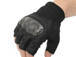 Military Combat Gloves mod. III (Size M) - Black [8FIELDS]