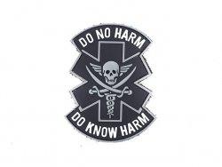 Naszywka DO NO HARM PVC 3 [EM]