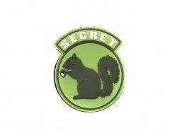 Naszywka Secret Squirrel PVC 5 [EM]