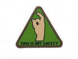 Naszywka  SAFETY PVC 1 [8FIELDS]