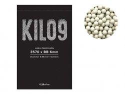 Precyzyjne kulki airsoftowe 0,28g 6mm - 3570 szt. [KILO9]