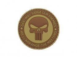Naszywka GOD WILL JUDGE PVC 3 [8FIELDS]
