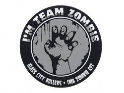 Naszywka Team Zombie PVC - Grey [EM]