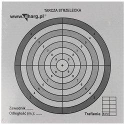 Tarcze strzeleckie Sharg 140x140mm 100szt (100-02)