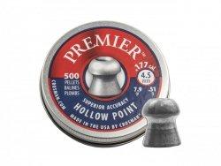 Crosman - Śrut diabolo Premier Hollow Point 4,5mm 500szt.