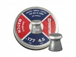 Crosman - Śrut diabolo Premier Match 4,5mm 500szt.