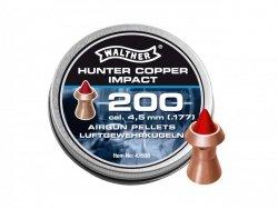 Walther - Śrut Hunter Copper Impact 4,5mm 200szt.