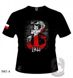 Koszulka Polska Walcząca 1944 PAT-04 [rozmiar 2XL]