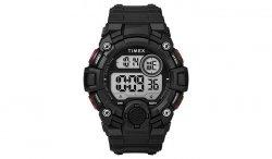 Timex - Zegarek A-Game DGTL Watch - Czarny / czerwony - TW5M27600