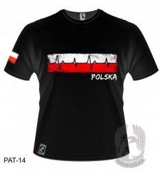 Koszulka Kardiogram Polska PAT-14 [rozmiar 2XL]