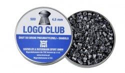 H&N - Śrut Diabolo Logo Club 4,5mm 500szt.