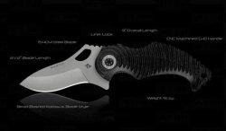 Mantis - MT-5b Kunitza - Silver Blade