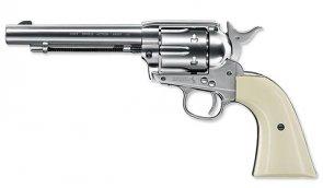 Umarex - Wiatrówka Colt SAA .45 - Nickel Pearl - 4,5 mm - 5.8309
