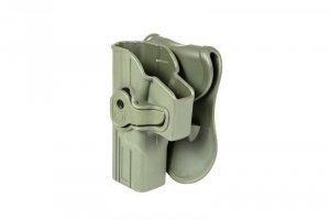 Kabura do pistoletów typu Glock (leworęczna) - olive drab