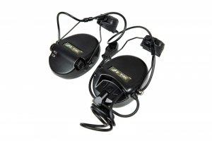 Zestaw słuchawkowy Z156 zSordin z adapterem do hełmów typu FAST - czarny