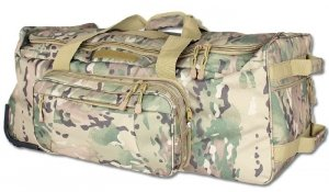 FOSCO - Torba na kółkach - Trolley commando bag - Multicamo