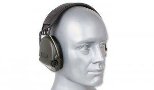MSA - Aktywne ochronniki słuchu Supreme Pro - Zielony - 75302